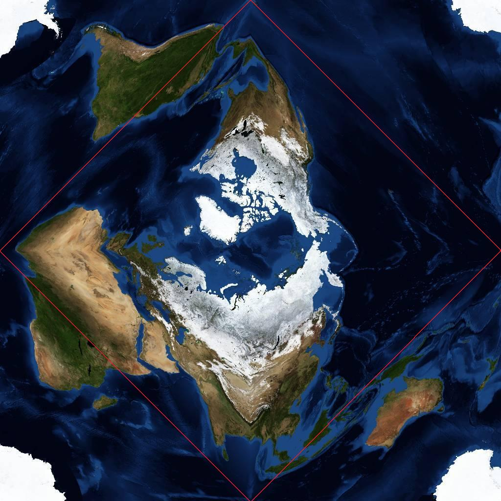 WorldWide Telescope Projection Reference – Map the Earth